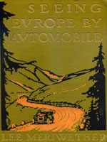 NYSL Decorative Cover: Seeing Europe by automobile