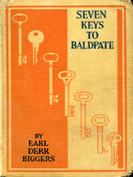 NYSL Decorative Cover: Seven keys to Baldpate