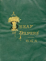 NYSL Decorative Cover: Sheaf of papers
