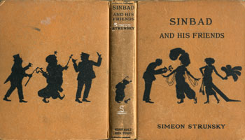 NYSL Decorative Cover: Sinbad and his friends