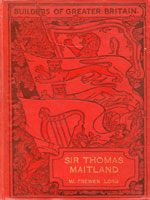 NYSL Decorative Cover: Sir Thomas Maitland