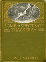 NYSL Decorative Cover: Some aspects of Thackeray