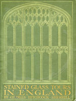 NYSL Decorative Cover: Stained glass tours in England
