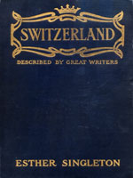 NYSL Decorative Cover: Switzerland as described by great writers