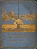 NYSL Decorative Cover: Untrodden English ways
