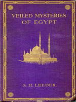 NYSL Decorative Cover: Veiled mysteries of Egypt and the religion of Islam