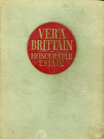 NYSL Decorative Cover: Vera Brittain