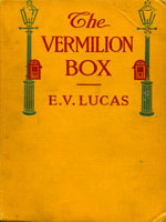NYSL Decorative Cover: Vermilion box