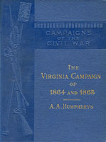 NYSL Decorative Cover: Virginia campaign of '64 and '65