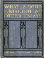NYSL Decorative Cover: What is good English?