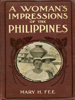NYSL Decorative Cover: Woman's impressions of the Philippines